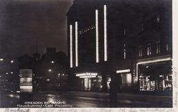 Dresden Bei Nacht - Hauptbahnhof - Café Piccadilly - Dresden