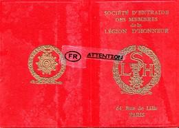 Sociétè D'entraide Des Membres De La Légion D'Honneur - Cartes Postales