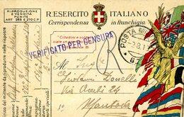 °°° Regio Esercito Italiano Corrispondenza In Franchigia Posta Militare N. 67 Non Comune °°° - Autres Collections