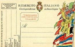 °°° Regio Esercito Italiano Corrispondenza In Franchigia Nuova °°° - Autres Collections