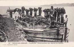 Nouvelles-Hébrides - Franceville - Embarquement Des Régimes De Bananes - Vanuatu