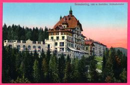 Semmering 1000m Seehöhe. - Südbahnhotel - Hôtel Gare Sud - Verlag ZIMARA Sohn - Colorisée - Semmering