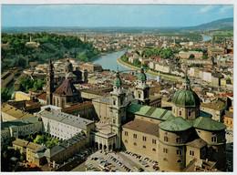 SALZBURG  DIE   FESTSPIELSTADT   BLICK  VON  DER  BURG                       (NUOVA) - Salzburg Stadt