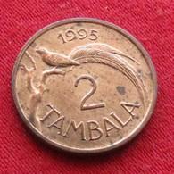Malawi 2 Tambala 1995 KM# 34 Bronze - Malawi