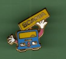 SCANIA *** Signe COINDEROUX-CORNER *** 0097 - Badges