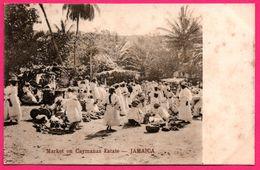 ** RARE ** - Jamaïque - Market On Caymanas Estate - Marché Caïmans - Animée - WEST INDIAN VIEW POSTCARD SERIE V - Jamaïque