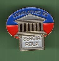 LEGISLATIVES 93 *** SERCIA ROUX *** 0097 - Administrations