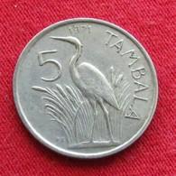 Malawi 5 Tambala 1971 KM# 9.1  *V2 - Malawi