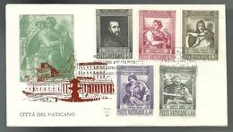 REF 49 - FDC ALA - 4° CENTENARIO DELLA MORTE DI MICHELANGELO BUONARROTI - 16.6.1964 - FDC