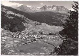 Nauders I Tirol 1363 M. Mit Klopaierspitze 2922 M, Austria, 1958 Used Real Photo Postcard [22380] - Nauders