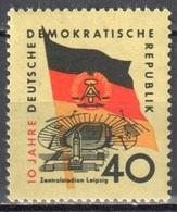 DDR 1959 - Mi.727 - MHH(**) - [6] Democratic Republic