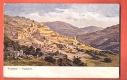 TRH-03  Nazareth Galilea . Used In 1911 In Switzerland. - Israel