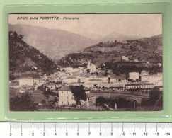 BAGNI Della PORRETTA Panorama _ Bologna Cartolina BN VG 19xx Rif.C0001 - Bologna