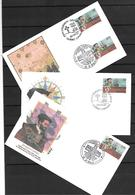 1984 Joint/Commune Canada And France, SET WITH 3 FDC'S: Cartier - Joint Issues