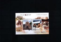 Kroatien / Croatia + Philippines 2018  Joint Issue 25 Years Of Diplomatic Relations Sauber Gestempelt / Fine Used - Gemeinschaftsausgaben