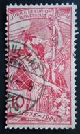 1900 Suisse Yt 86, 87, 88 . U.P.U. (Universal Postal Union), 25th Anniversary Oblitérés 3 Scans Cachet AMBULANT - 1882-1906 Armoiries, Helvetia Debout & UPU