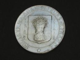 Médaille Socièté Des Agriculteurs De France - Viribus Unitis   **** EN ACHAT IMMEDIAT  **** - Professionals / Firms