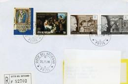 °°° Raccomandata Vaticano °°° - Lettres & Documents