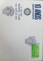 W) 1983 PORTUGAL, WORLD TURISM CONFERENCE, 100 YEARS ROTARY CLUB, 50, GREEN, FDC - FDC