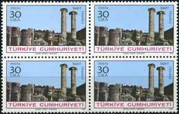 TURKEY 1982 (**) - Mi. 2623, Antique Cities (1st/5 Issue) [Block Of Four] - 1921-... Republic