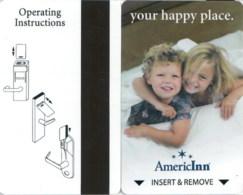Hotelkarte, Room Key Card, Sleutelkaart, Clef De Hotel, AmericInn Your Happy Place-1742 - Cartes D'hotel