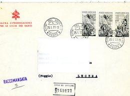 °°° Raccomandata Affrancata Con Serie Avignone °°° - Lettres & Documents