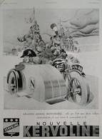 Affiche Publicité KERVOLINE 1929  René VINCENT , Illustrateur. - Publicités