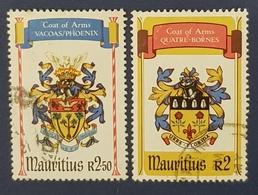 1981 Mauritius, State Coat Of Arms, Used - Mauritius (1968-...)