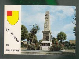 CP (59) Sainghin-en-Melantois  -  Monument Aux Morts - France