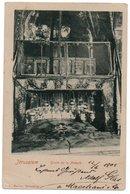 JERUSALEM - GROTTE DE LA NATIVITE' / AUSTRIA POST OFFICE CANCEL 1903 - Israele