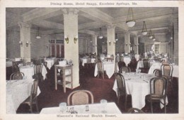 Missouri Excelsior Springs Hotel Snapp Dining Room - United States