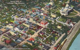 Missouri Jefferson City Aerial View Curteich - United States