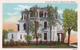 Missouri Jefferson City Governor's Mansion Curteich - United States