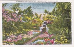 Missouri St Louis Shaw's Garden Interior Of Green House - St Louis – Missouri