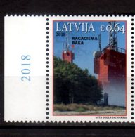 2018 Latvia - Lighthouses Of Latvia Ragaciems 1  V -paper -MNH** (gg) MiNr. 1058 - Leuchttürme
