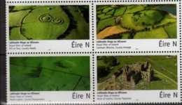 2017 Ireland -Royal Sites Of Ireland - Block Of 4 - MNH** MI 2218-2221 - 1949-... République D'Irlande