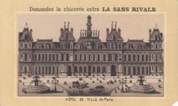 Chomo Chicoree La Sans Rivale .. Exposition Inter Nationale D'hygiene Et Alimentation 1888 Hotel De Ville Paris. - Chromos