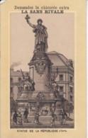 Chomo Chicoree La Sans Rivale .. Exposition Inter Nationale D'hygiene Et Alimentation 1888 Statue De La Republique - Chromos