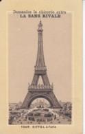 Chomo Chicoree La Sans Rivale .. Exposition Inter Nationale D'hygiene Et Alimentation 1888 Our Eiffel - Chromos