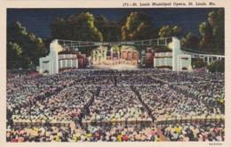 Missouri St Louis Municipal Opera Curteich - St Louis – Missouri