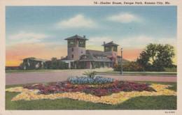 Missouri Kansas City Shelter House Swope Park 1948 Curteich - Kansas City – Missouri