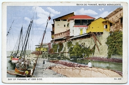 PANAMA : BAHIA DE PANAMA, MAREA MENGUANTE / BAY OF PANAMA - EBB SIDE - Panama