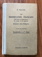 La Dissertation Française - Raoul Bouviolle - 1930 - 12-18 Años