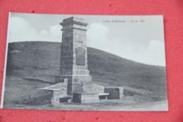 Torino Colle Sestrieres Sestriere Obelisco Inaugurato Nel 1921 NV - Autres Villes