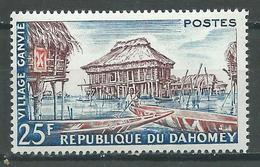 Dahomey YT N°155 Village Ganvié Neuf ** - Bénin – Dahomey (1960-...)