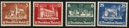 DT.REICH 1935, NR. 576-79, SATZ OSTROPA OHNE GUMMI, BPP SIGN. Mi. 180,- - Allemagne
