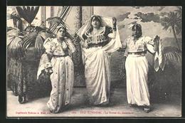 AK La Danse Du Mouchoir, Sud Tunisien - Völker & Typen