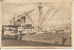 """MOÇAMBIQUE - Lourenço Marques- Barco - """"Route Cais Wharf"""" (Ed. J. J. Albino De Sousa) - Mozambique"""