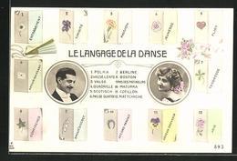 AK Blumensprache, Le Langage De La Danse - Ohne Zuordnung