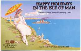 ISLE OF MAN MARKENHEFTCHEN Nr MH 32 Postfrisch S00963E - Man (Insel)